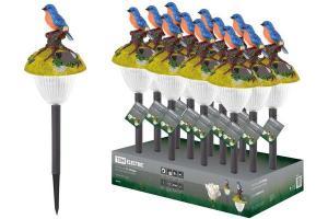 """Светильник СП Птицы"""" на солнечных батареях, пластик, в ассортименте, ДБ, TDM"""""""