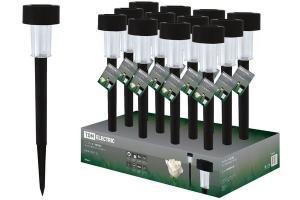 Светильник СП-325 на солнечных батареях, пластик, 6х36см, ДБ, TDM