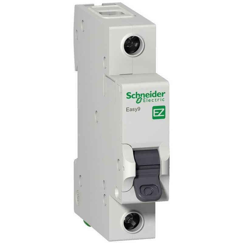 Автоматический выключатель EASY 9 1П 10А 4,5кА С Schneider Electric