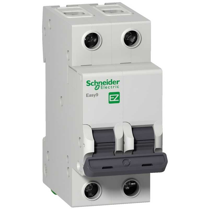 Автоматический выключатель EASY 9 2П 20А 4,5кА С Schneider Electric