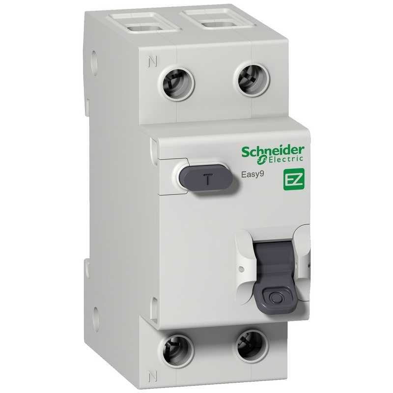 Дифф. авт. выкл. EASY 9 1П+Н 25А/30мА АС Schneider Electric