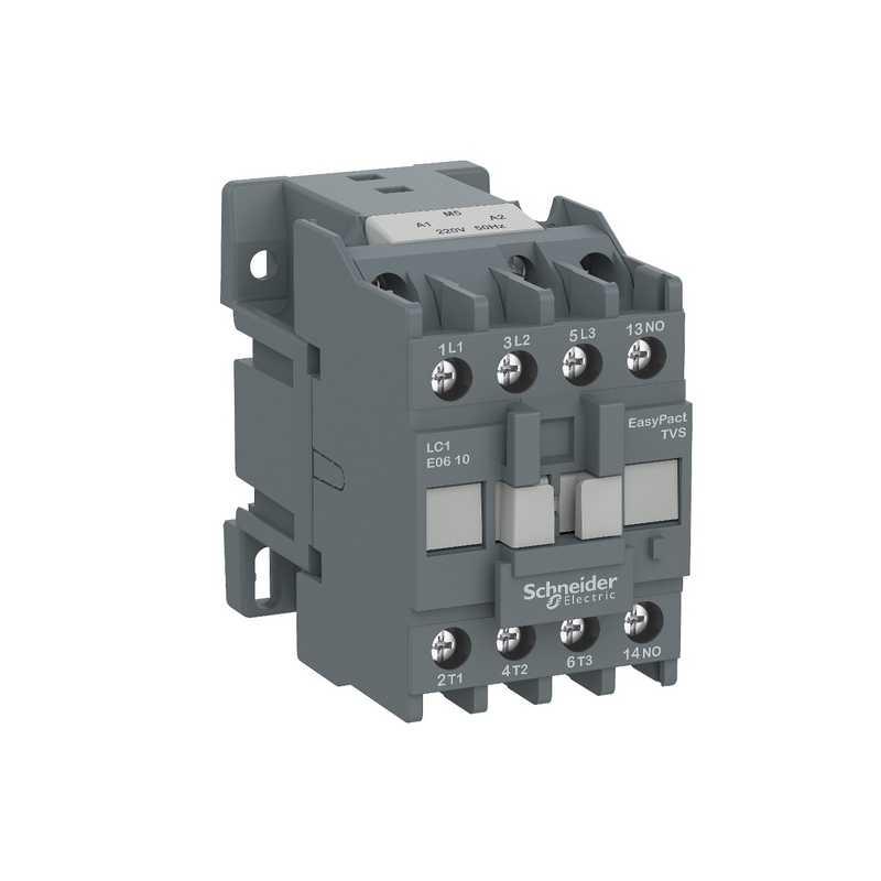 Контактор E 1НО 25А 400В АС3 220В 50ГЦ Schneider Electric