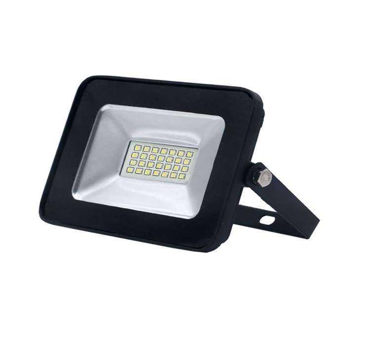 Прожектор LED 30W VLF4-30-6500-В 6500К 2400Лм 220V IP65, черный  VKL electric