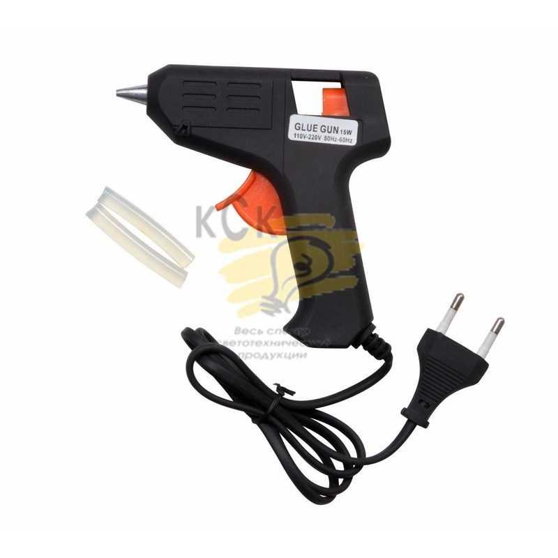 Пистолет клеевой  15 Вт  малый  (в блистере)  PROCONNECT