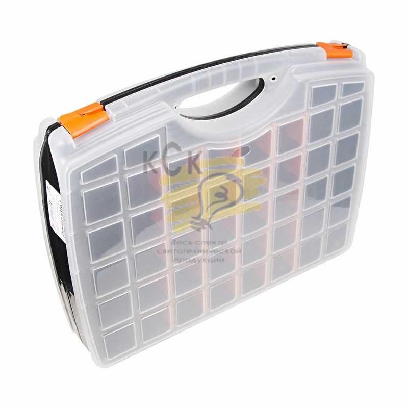 Ящик пластиковый универсальный  (двойной) Proconnect 425х330х85 мм