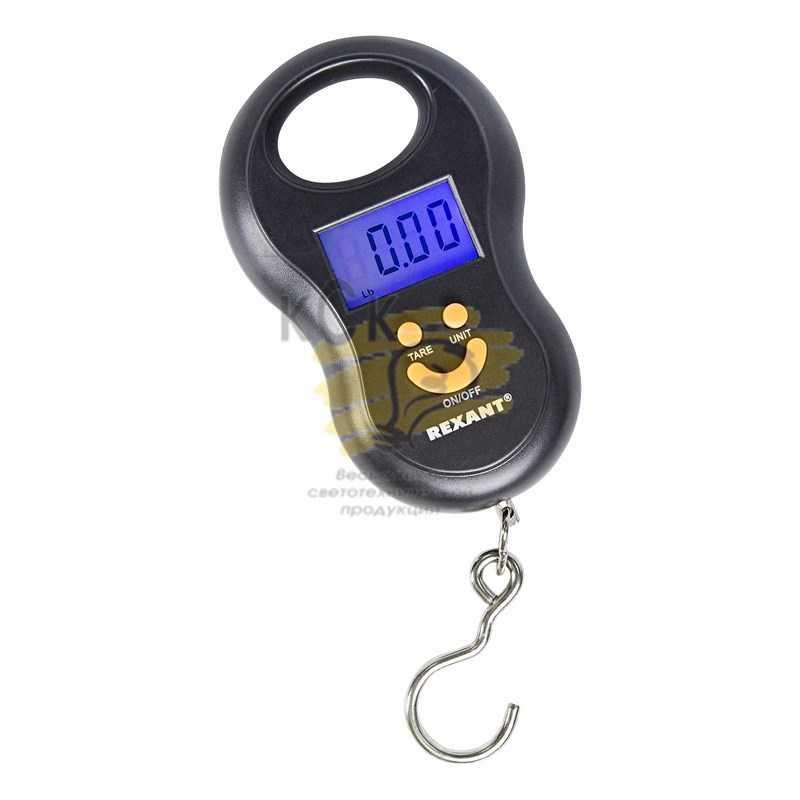 Ручные электронные весы безмен до 50 кг.