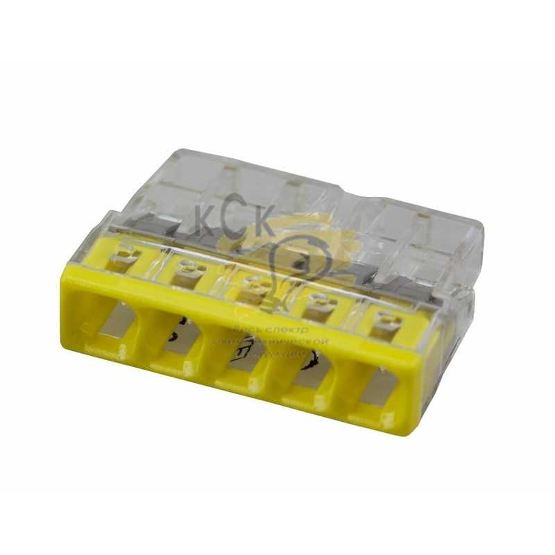 2273-205 Электромонтажные экспресс-клеммы (5*2.5мм2) 100шт  WAGO