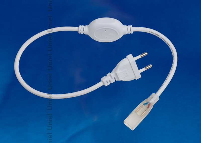 UCX-SP2/A67-NNN WHITE 1 STICKER Провод электрический для подключения монохромных светодиодных лент U