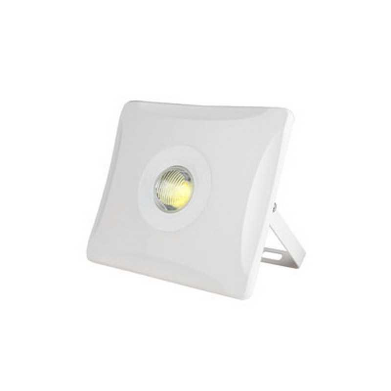 ULF-F11-50W/DW IP65 180-240В WHITE Прожектор светодиодный. Корпус белый. Цвет свечения дневной белый