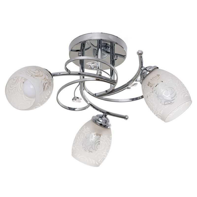 Потолочный светильник 6154/3CR WT
