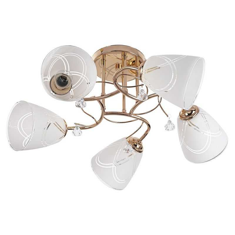 Потолочный светильник 91005/5FGD WT