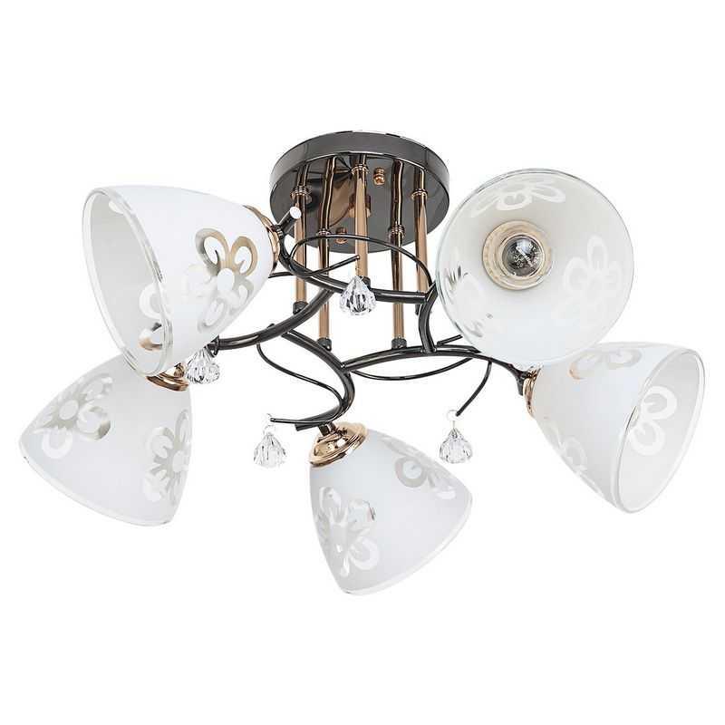 Потолочный светильник 91006/5ZZH+FGD WT