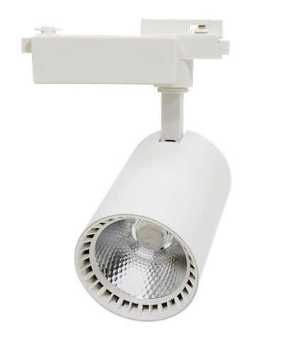 Светильник светодиодный трековый TR-04 24Вт 230В 4000К 2160Лм 104x148x206мм белый IP40 LLT