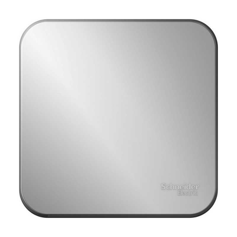 Переключатель 1кл  наруж 10А, 250B, изолир пластина Алюминий Blanca Schneider Electric