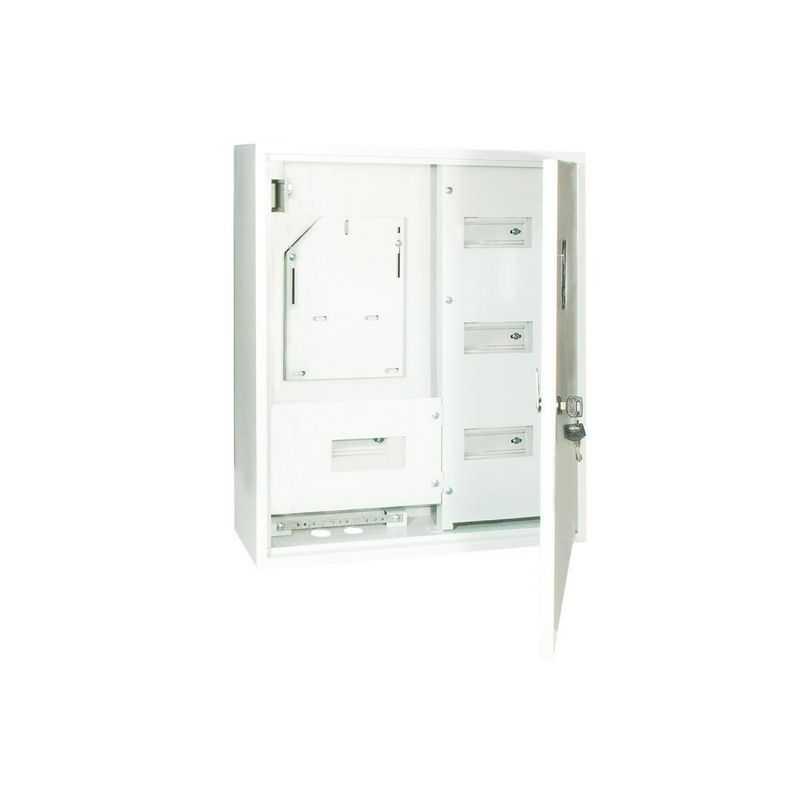 Корпус металлический ЩУРН-3/24 (560х480х165) 1 дверный TDM