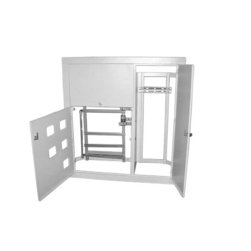 Корпус щита этажного 5 кв. (1010х950х160) размер ниши (920х860х140) TDM