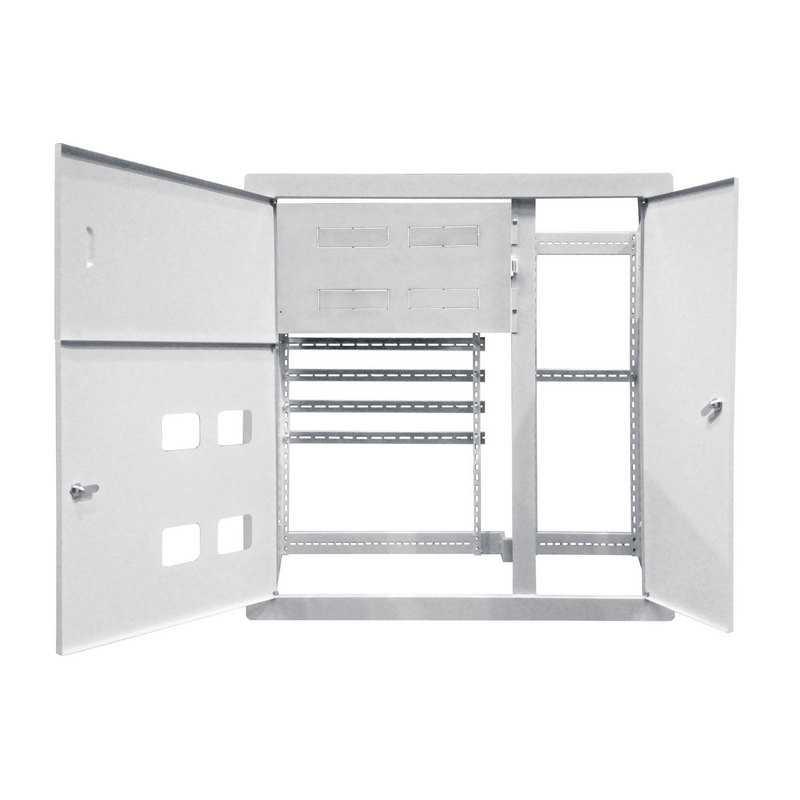 Корпус щита этажного 4 кв. модификация 2 (1010х950х160) TDM