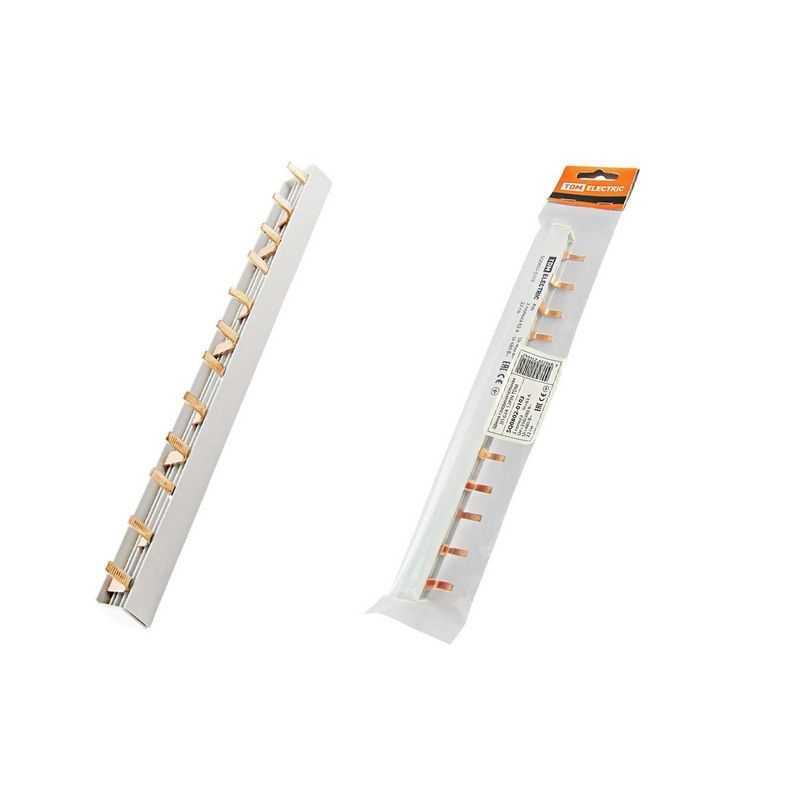 Шина соединительная 3П 63А PIN (штырь) 12PIN TDM