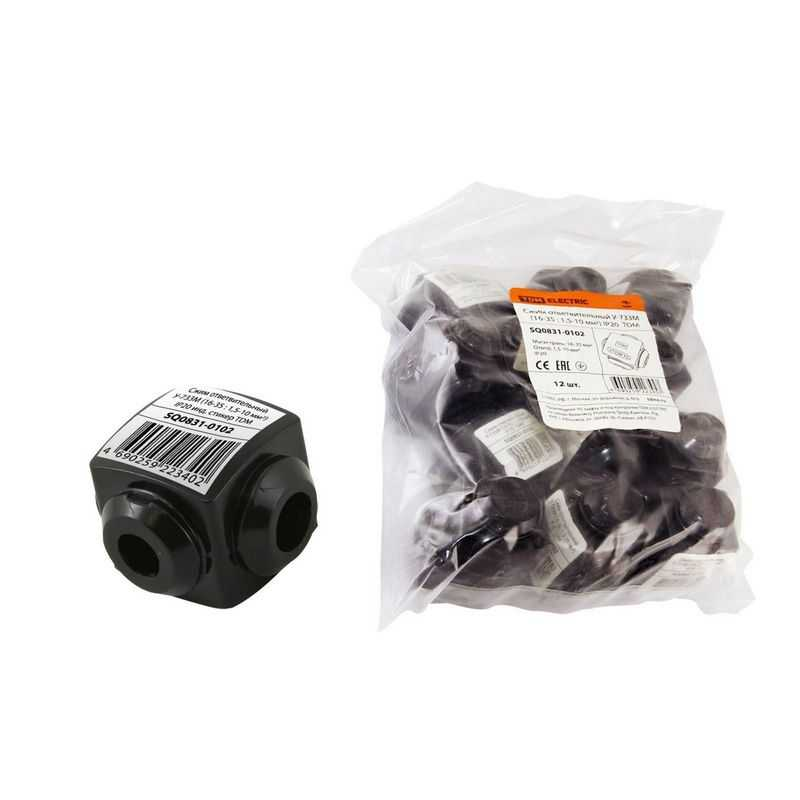 Сжим ответвительный У-733М (16-35 : 1,5-10 мм2) IP20 инд. стикер TDM