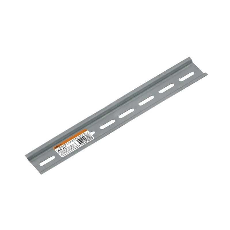 DIN-рейка (30см) оцинкованная инд. штрихкод TDM