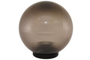 Светильник НТУ 02-100-305 шар дымчатый с огранкой d=300 мм TDM