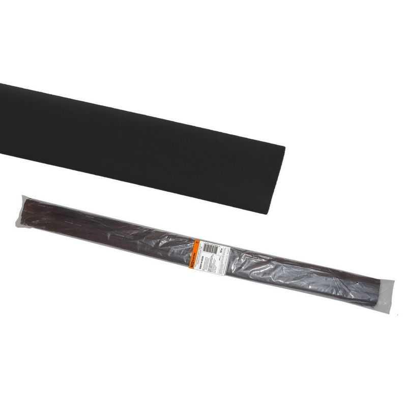 Термоусаживаемая трубка ТУТнг 20/10 черная по 1м (50 м/упак) TDM