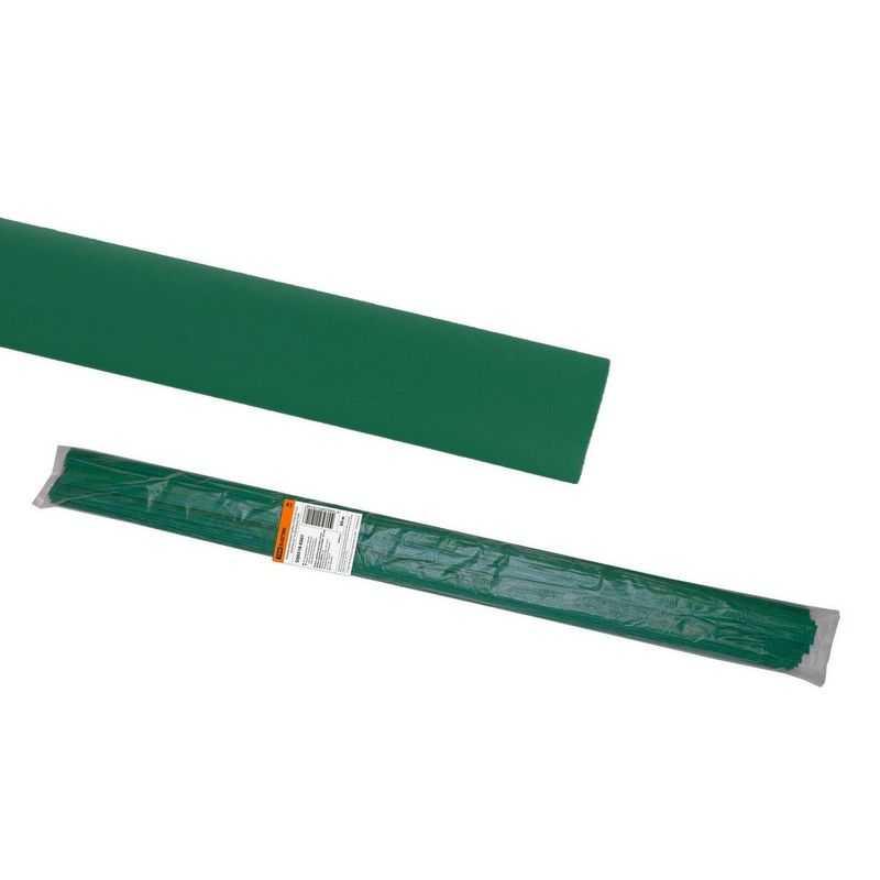 Термоусаживаемая трубка ТУТнг 25/12,5 зеленая по 1м (50 м/упак) TDM