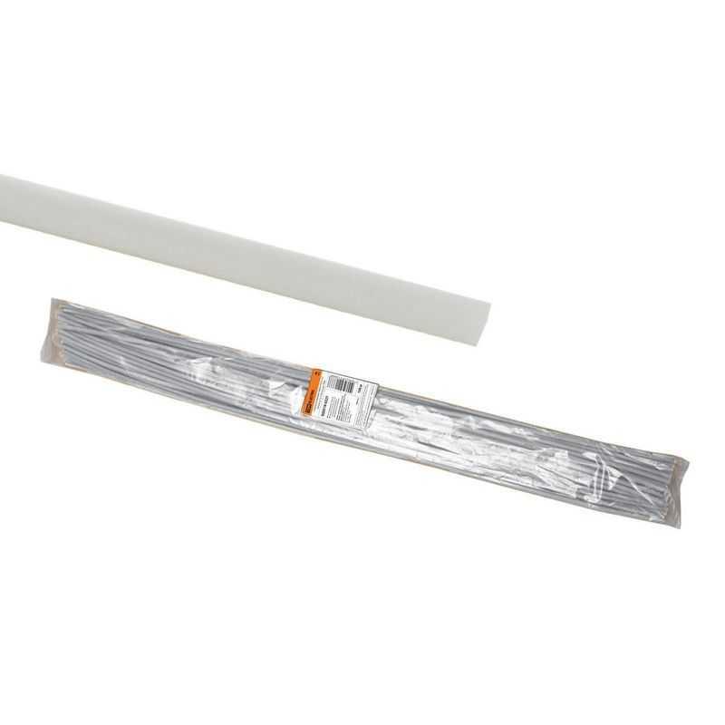 Термоусаживаемая трубка ТУТнг 4/2 белая по 1м (100 м/упак) TDM