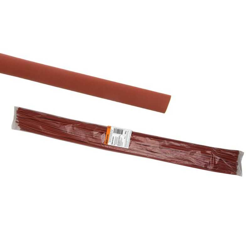 SQ0518-0331 Термоусаживаемая трубка ТУТнг 4/2 красная по 1м (100 м/упак) TDM электропродукция оптом, и розницу купить в Крыму, Симферополе, Севастополе магазин КСК